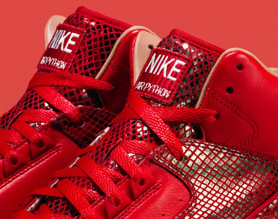Nike Air Python Lux Red and Black – Officially Unveiled
