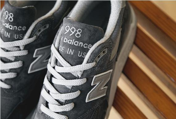 New Balance 998 Made in the USA Grey