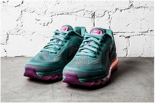 Nike WMNS Air Max 2014 - Atomic Orange and Forest Green