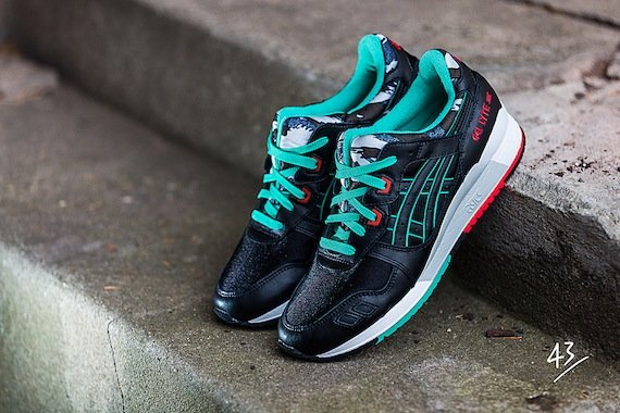 Asics Gel Lyte III Fish Scale Camo