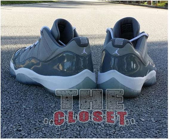 1Air Jordan 11 Low Cool Grey Michael Jordan PE