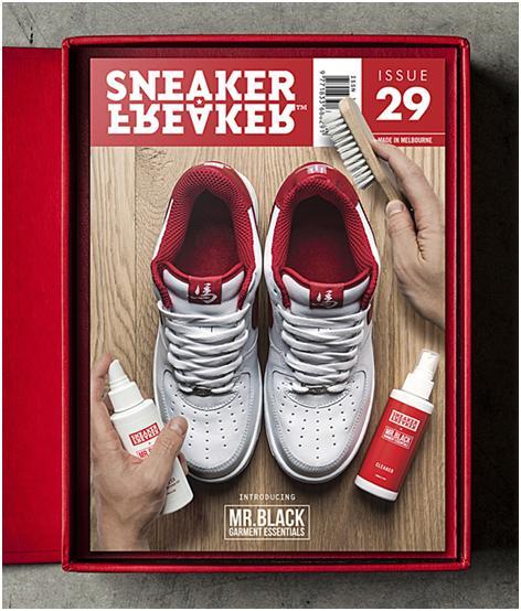 Sneaker Freaker x Mr. Black: Sneaker Cleaning Kit