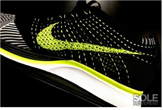 Nike Flyknit Racer Split Pack Volt - More Detailed Pictures