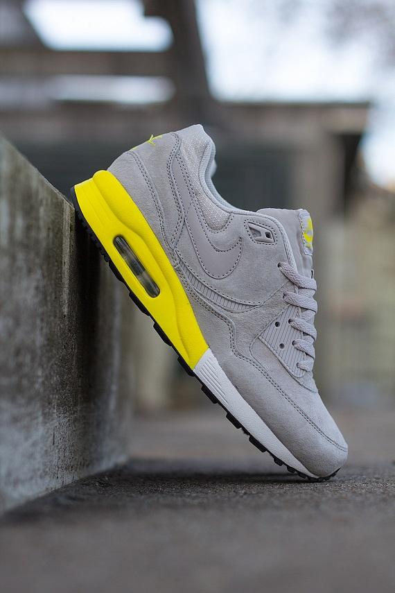 Nike Air Max Light Premium Grey and Yellow