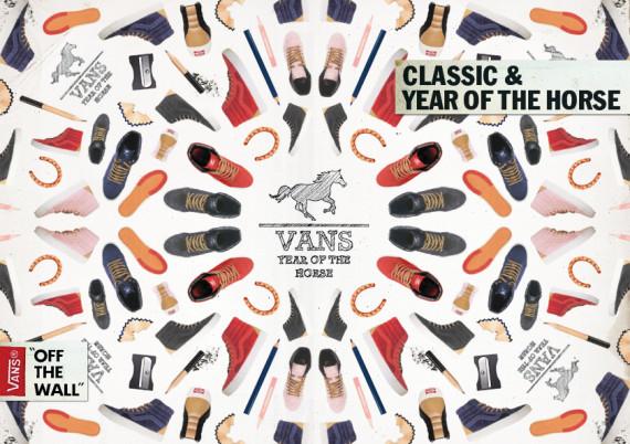 Vans Sk8-Hi Reissue Year of the Horse Pack