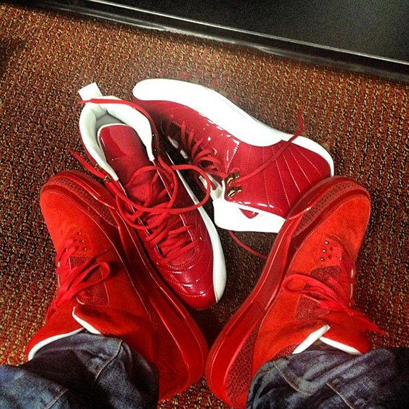 Crabtree Red Jordans