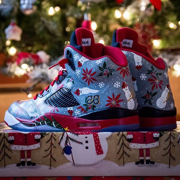 "Lebron 11 Shoes Christmas Air Jordan V (5) ""..."
