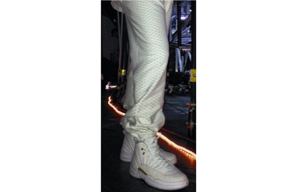 new product ac179 0a4b9 Drake in white OVO XII