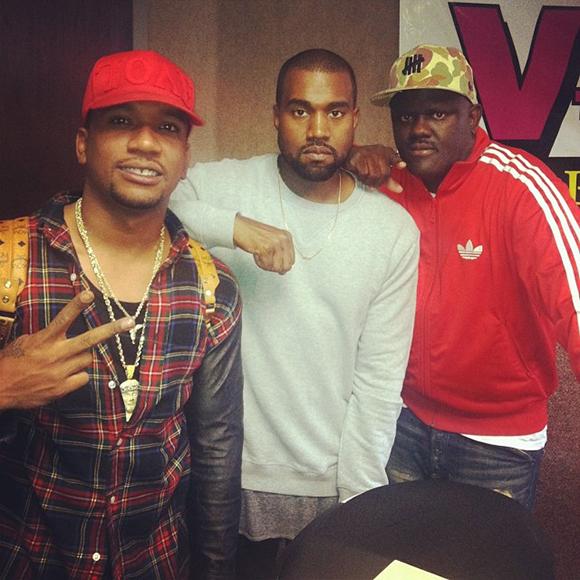 Kanye Signs Kicks