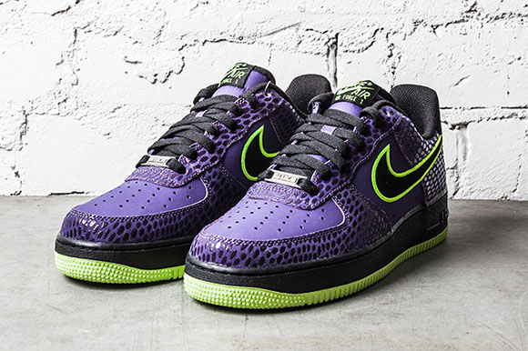 Nike AF1 PurpGreen