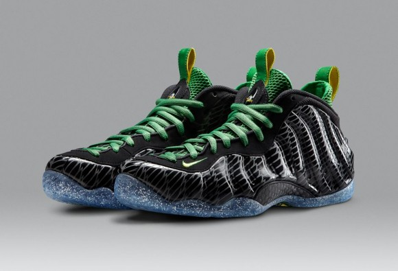 Nike Air Foamposite One Oregon Ducks Official Images & Release Info