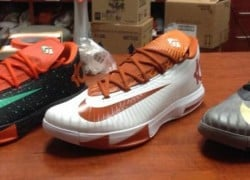 "Nike KD VI (6) ""UT Longhorns"" PE – First Look"