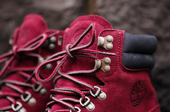 RF X Timberland Wine Boots