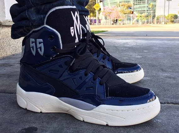 adidas Mutombo Black Patent Leather Sample