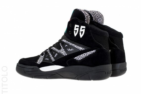 adidas Mutombo Black White Available for Pre-order