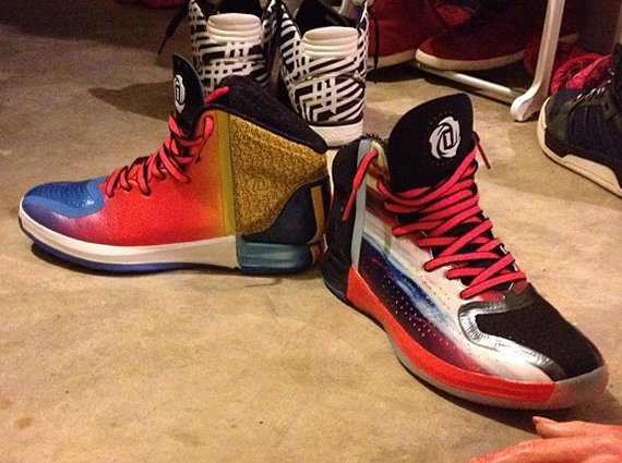 adidas Rose 4 Upcoming Multi-Color Samples