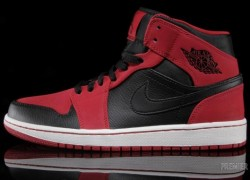 Air Jordan 1 Mid – Gym Red – Black – Now Available