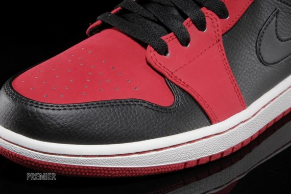 Air Jordan 1 Mid Gym Red Black Now Available