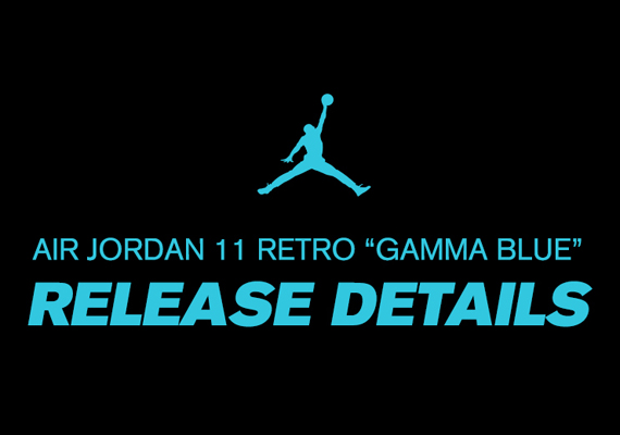 Air Jordan 11 Gamma Blue Foot Locker Release Details