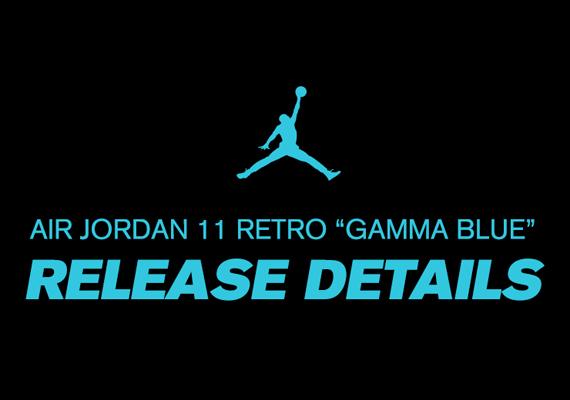 Air Jordan 11 Gamma Blue Foot Locker Release Details