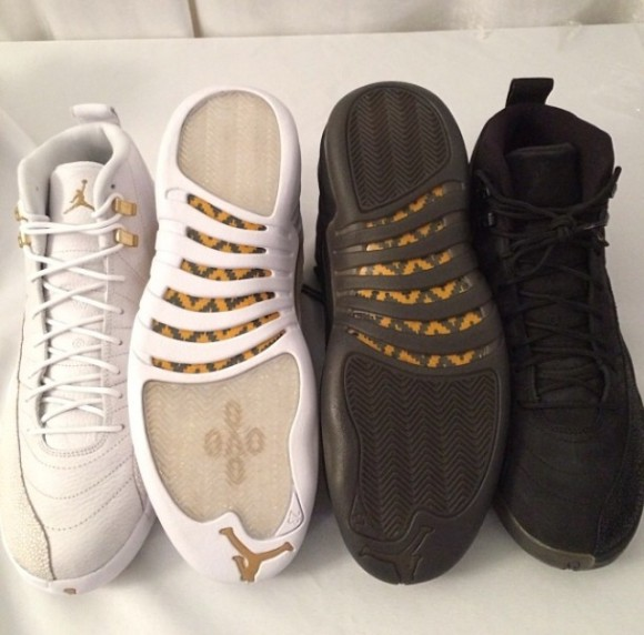 Air Jordan 12 OVO Stingray Sample Pack