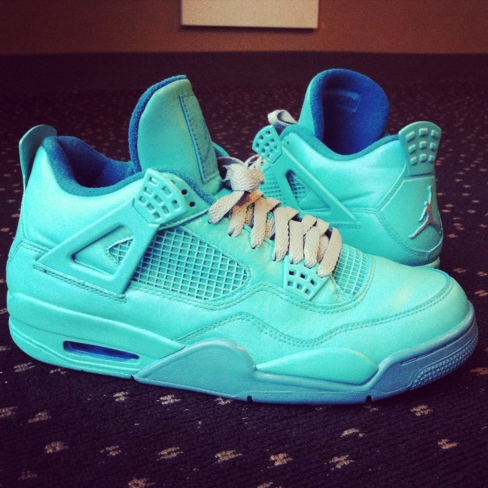 air-jordan-iv-4-dimed-out-tiffany-custom