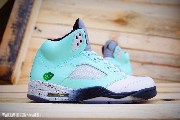 Air Jordan Mint Pack Customs by Ramses