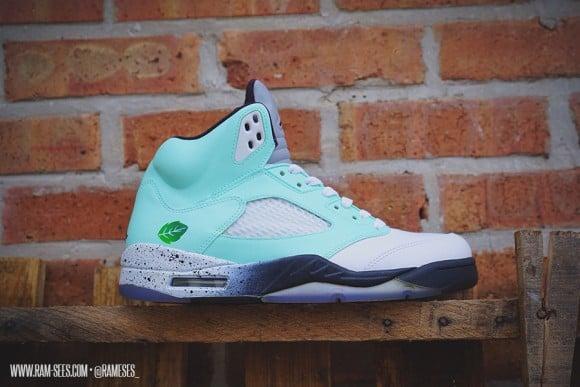 Air Jordan Mint Pack Customs by Ramses