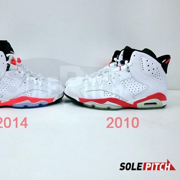 air-jordan-vi-6-white-infrared-2010-2014-comparison-3