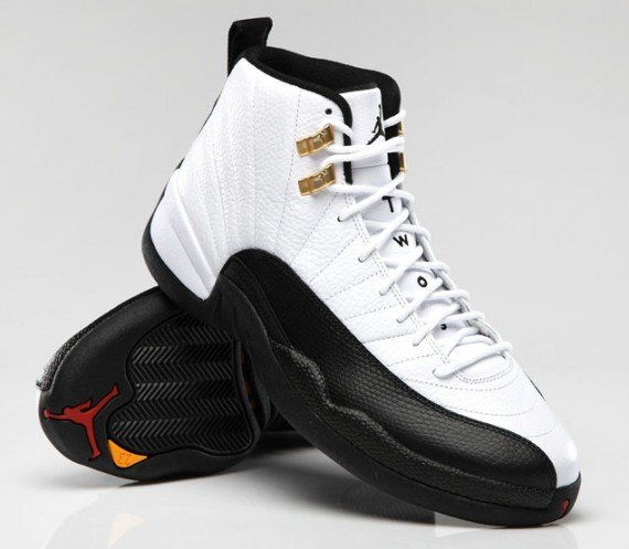 Air Jordan 12 Taxi Official Images