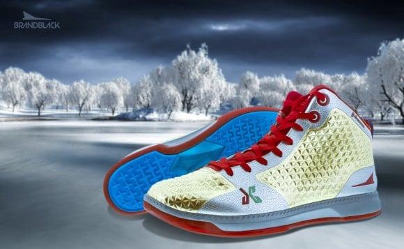 BRANDBLACK J. Crossover Christmas Day Shoes