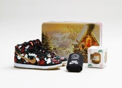 Concepts x Nike SB Dunk High Pro 'Ugly Sweater' – Black | Official Images