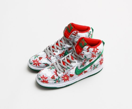 pretty nice 5d668 f735a Concepts x Nike SB Dunk High Pro 'Ugly Sweater' - Grey | Official ...