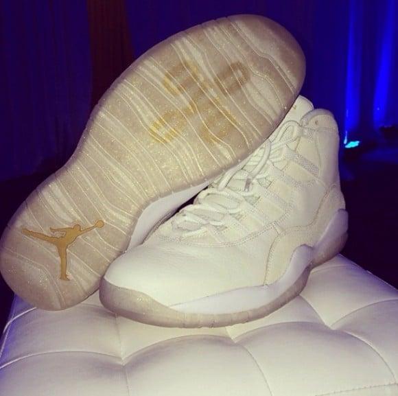 Drake Previews His Air Jordan 10 OVO