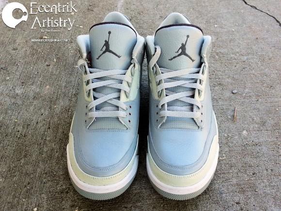 Air Jordan 3 Shades of Grey by Ecentrik Artistry