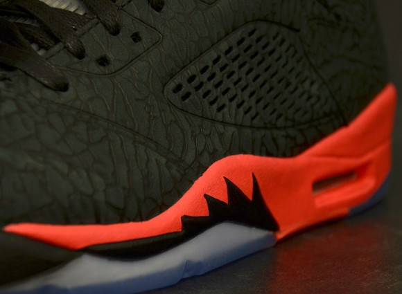 Air Jordan 3Lab5 Infrared 23Closest Look Yet