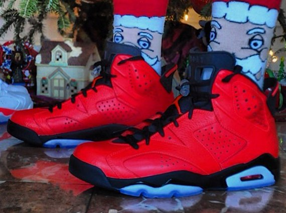 Air Jordan 6 Infrared 23 On-Feet Image