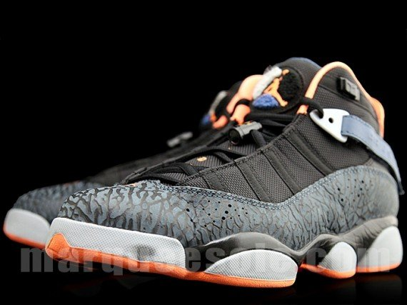 3b08fe291d8b55 Jordan 6 Rings Black Atomic Orange New Slate Wolf Grey Release Date