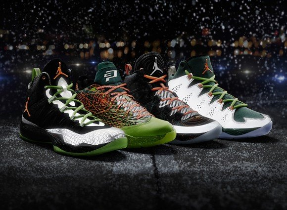 online retailer b7609 b97eb Jordan Brand 2013 Christmas Pack Officially Unveiled