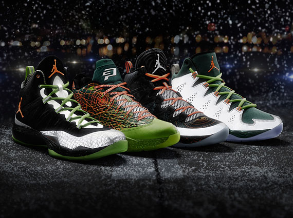 Jordan Brand Flight Before Christmas Pack Release Reminder