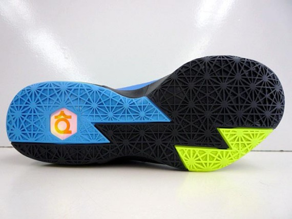 Nike KD 6 Black Volt Vivid Blue Dark Grey Another Look