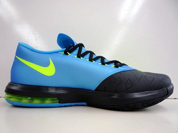 1984105b927a Nike KD 6 – Black – Volt – Vivid Blue – Dark Grey - Another Look ...