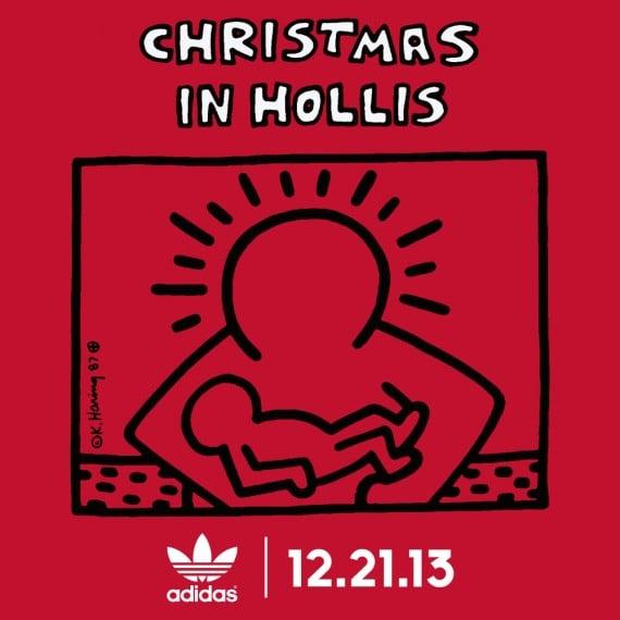 Run DMC x Keith Haring x adidas Originals Christmas in Hollis