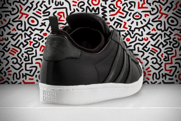 Keith Haring x RUN DMC x adidas Originals Superstar 80s Christmas in Hollis First Look