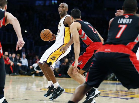 Kobe Bryant Makes Season Debut in the Nike Zoom Kobe 1 Prelude