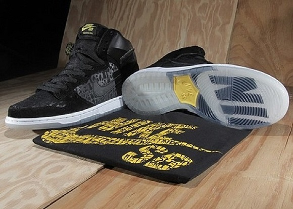 separation shoes 98827 3fbd9 Neckface x Nike SB Dunk High Premium Chronicles 2 Release Info