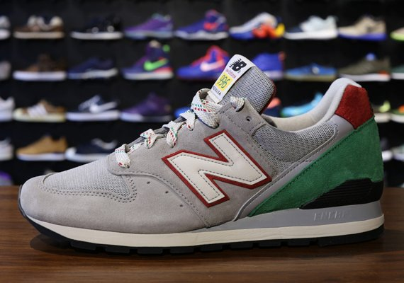 new balance 996 grey green