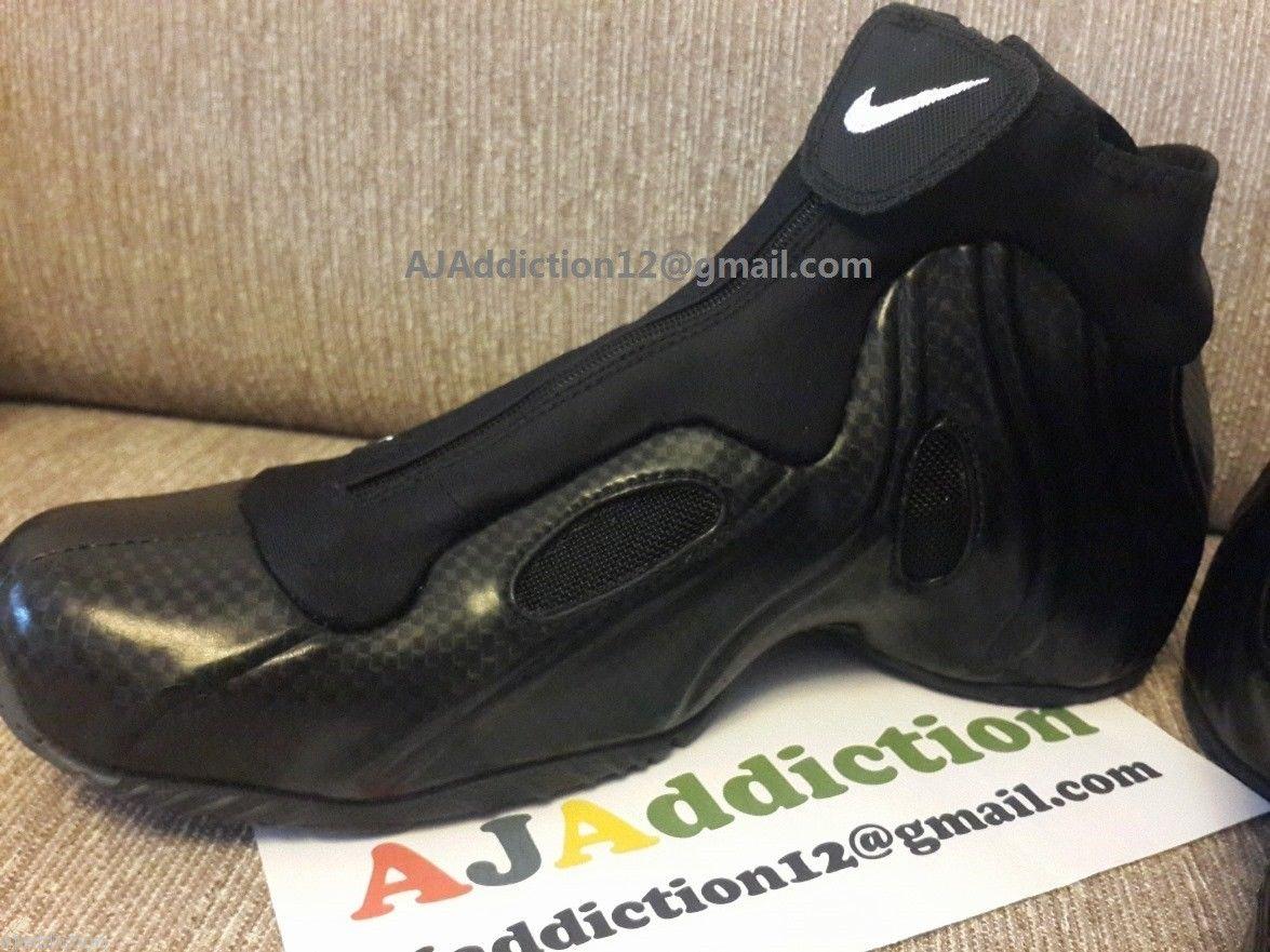 Nike Air Flightposite 'Carbon Fiber' 2014 Retro | SneakerFiles