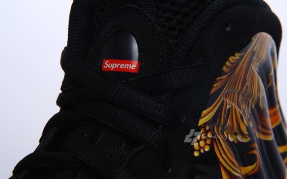 Supreme x Nike Air Foamposite One Black Another Look