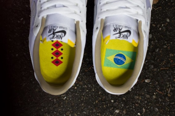 Nike Air Force 1 Brazil Collection Release Date